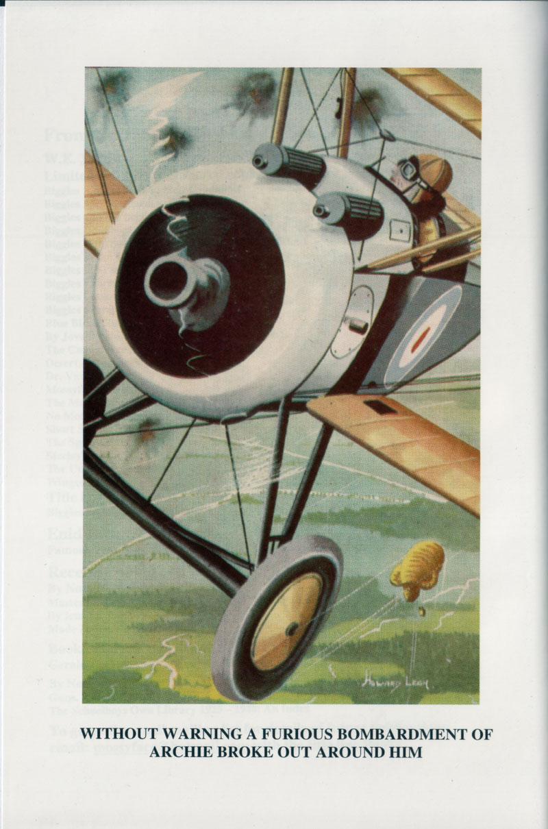 Biggles of the Camel Squadron - Frontis of 03-31