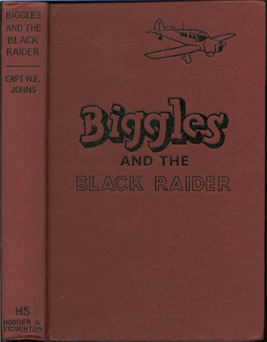 Biggles and the Black Raider - Binding of 44-01