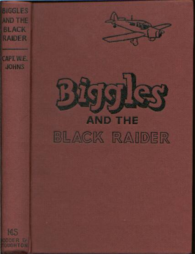 Biggles and the Black Raider - Binding of 44-03