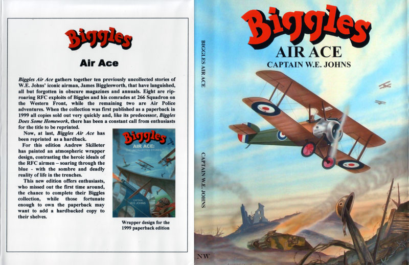Biggles Air Ace - Dustjacket of 98-02