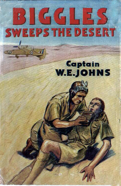 Biggles Sweeps the Desert - Cover of 26-04
