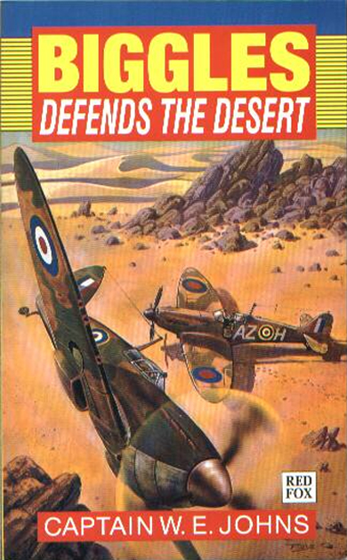 Biggles Sweeps the Desert - Cover of 26-07