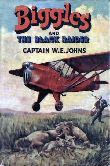 Biggles and the Black Raider - Cover of 44-01